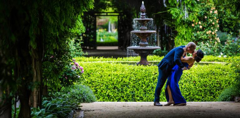 Nhan & Emily's prewedding photography | Alowyn Gardens