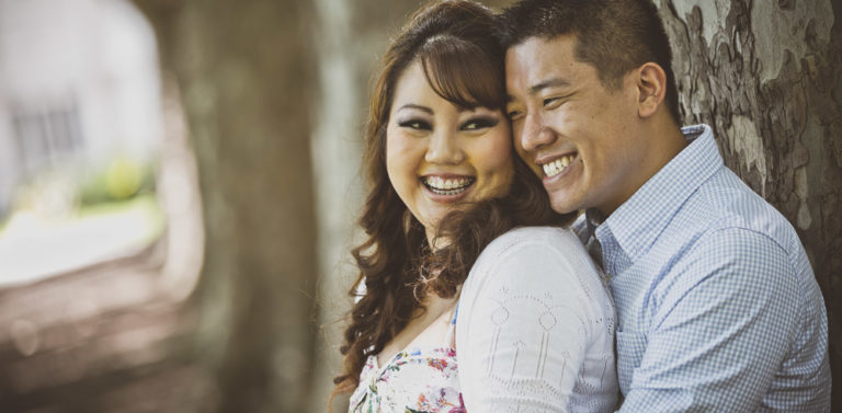 Hung & Nikki's Engagement Portrait Photography