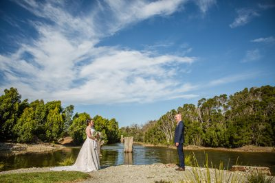 Aaron & Beth's Phillip Island Wedding | The Shearing Shed