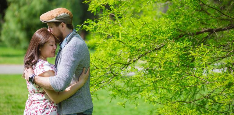 Ben & Amanda's Engagement Photography | Fitzroy Gardens