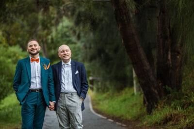 Thomas & Tim's Same Sex Wedding Photography Melbourne   Mountain Goat Brewery