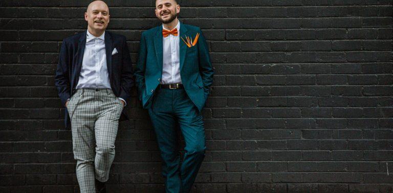 Thomas & Tim's Same Sex Wedding Photography Melbourne | Mountain Goat Brewery