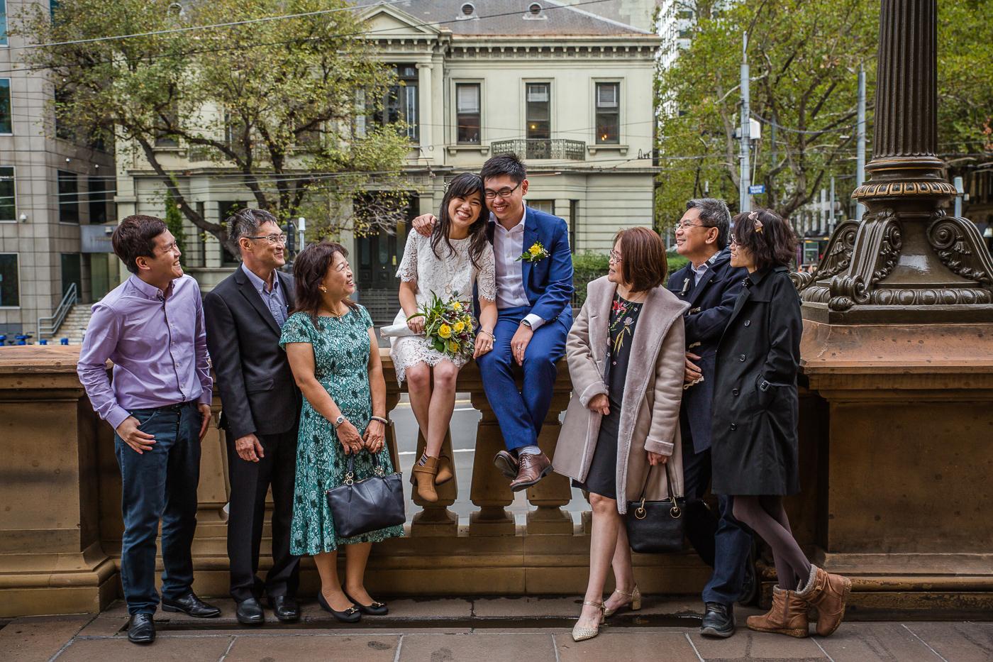 Kelvin & Junlee's Melbourne registry wedding photography