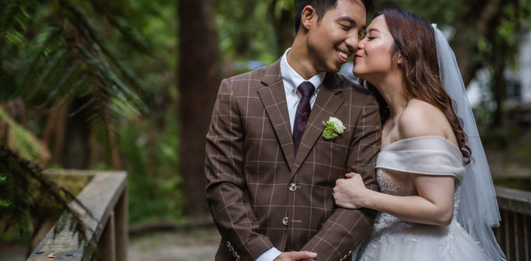 Lyrebird Falls Vietnamese Wedding Photography | Loc & Chi