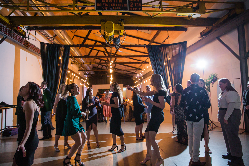 Two ton max wedding venue melbourne dance floor