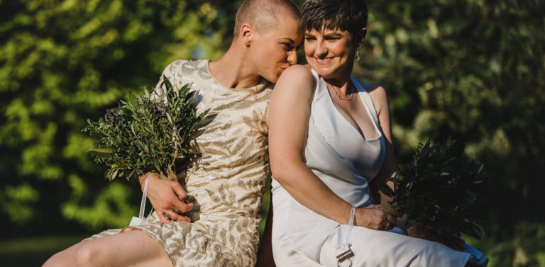 Tracy + Justyna // Same Sex Wedding Photography